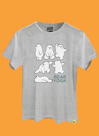 Imagem Camiseta Ursos Sem Curso Yoga