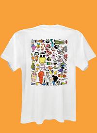 Imagem Camiseta Cartoon 90 Universo