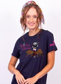 Imagem Camiseta Masculina FanDome 2021 Arlequina Animação