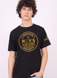 Imagem Camiseta Masculina FanDome 2021 Justice Society