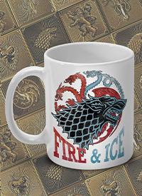 Imagem Caneca Game of Thrones Fire & Ice