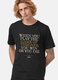 Imagem Camiseta Game of Thrones You Win or You Die