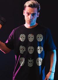 Imagem Camiseta Sexta-Feira 13 Jason Máscaras
