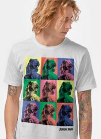 Imagem Camiseta Jurassic World T.Rex Pop Art