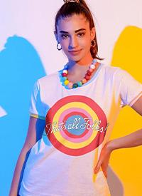 Imagem Camiseta Ringer Looney Tunes That's All Folks