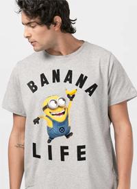 Imagem Camiseta Minions Banana Life
