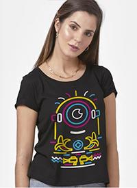 Imagem Camiseta Minions Neon