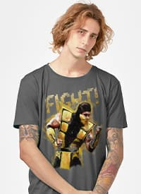 Imagem Camiseta Mortal Kombat Scorpion