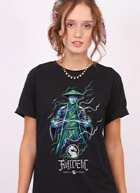 Imagem T-shirt Mortal Kombat Raiden