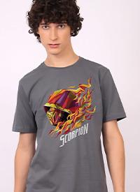 Imagem Camiseta Mortal Kombat Scorpion Perfil