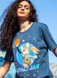 Imagem T-shirt Space Jam Stars Lola