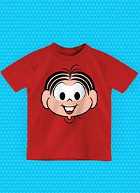 Imagem Camiseta Infantil Turma da Mônica Rostinho Mônica
