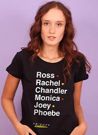 Imagem Camiseta Friends The Reunion Nomes