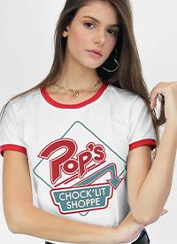 Imagem Camiseta Ringer Riverdale Pop's